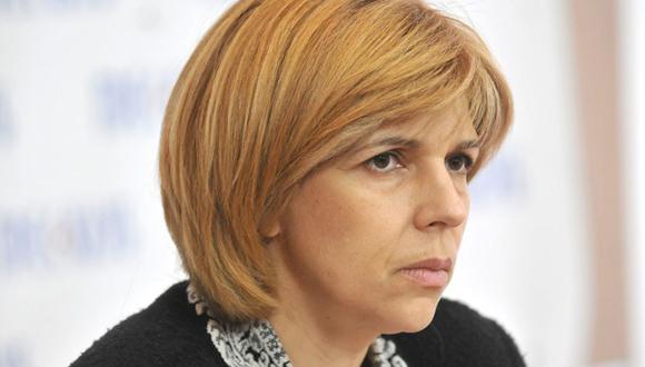 Olga Bogomolets. Médica de profesión, activista social y doctora principal de las protestas en Maidan. Entre 2004 y 2005 trabajó como médico personal del presidente Viktor Yushchenko.