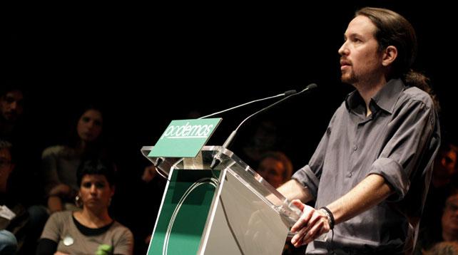 """""""Podemos"""", un fenómeno mediático que pretende ser político"""