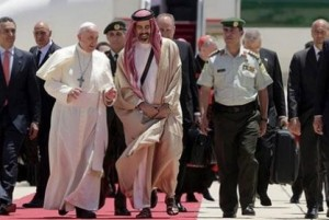 Papa Francisco en Jordania