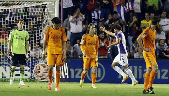El equipo merengue no pudo pasar del empate y pone al Barcelona en la pelea por el título. Foto tomada de www.nacion.com