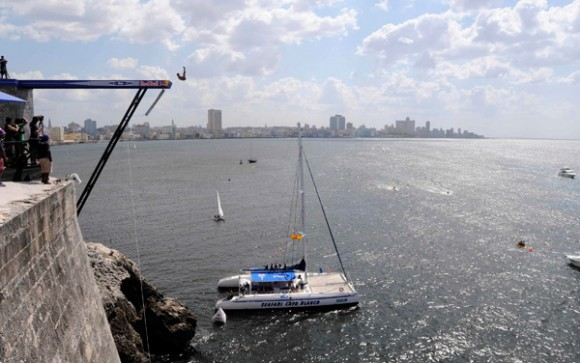 Serie Mundial de Cliff Diving Habana Cuba