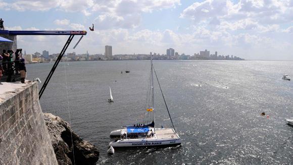 Serie MunSerie Mundial de Cliff Diving Habana Cuba