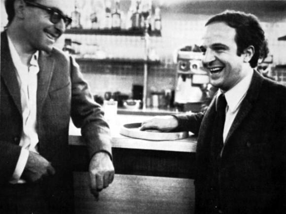 François Truffaut y Jean-Luc Godard en Deux de la Vague (2010)