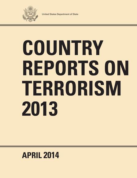 Terrorism Report, cover
