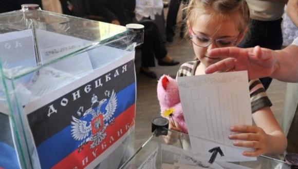 Referendo separatista en Donetsk y Lugansk finalizó con buenas noticias para los independentistas.