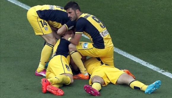 atletico de madrid contra el barcelona