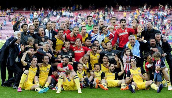 atletico de madrid gana la liga española