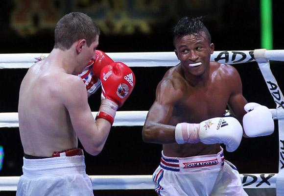 Lazaro Alvarez le gano a Konstantin Bogomazov en los 60 kg. Foto: Ismael Francisco/Cubadebate.