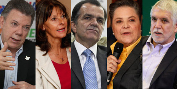 candidatos colombia