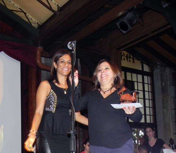 Premio Especial a Colección 30 años de Liuba Maria Hevia del sello Bis Music de ARTex. Foto Marianela Dufflar/Cubadebate