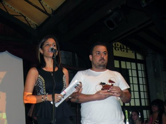 Premio Especial a DVD Concierto antológico de Santiago Feliú de Lester Hamlet. Foto Marianela Dufflar/Cubadebate
