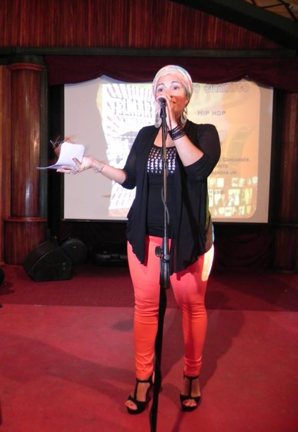 """""""Libre"""" de Telmary del sello Bis Music alcanzó el Premio  en Hip Hop. Foto:Marianela Dufflar/Cubadebate"""