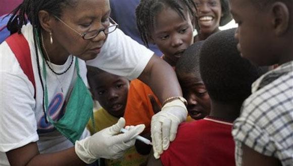 enfermera cubana en haiti