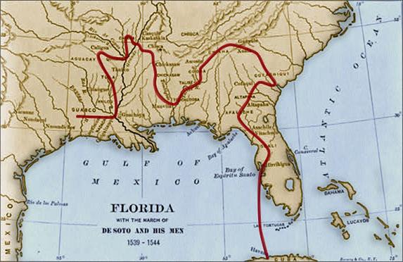 expedición de Hernando de Soto