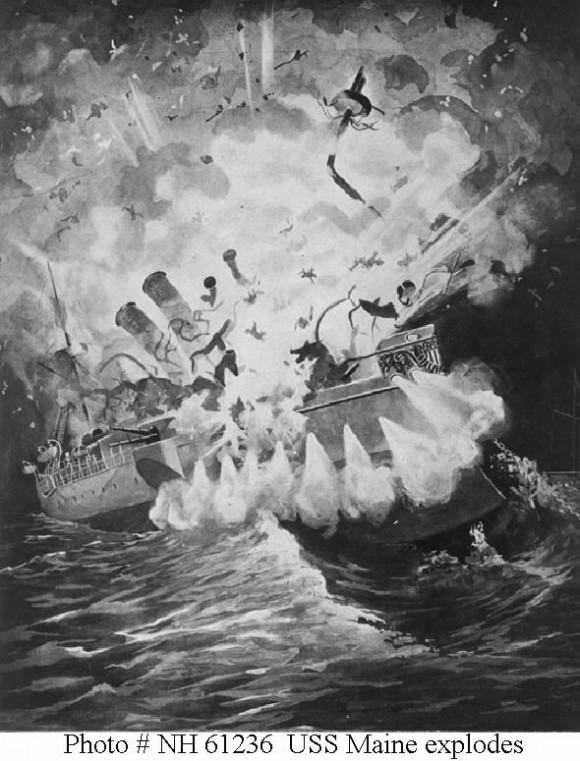 Explosión del Maine.
