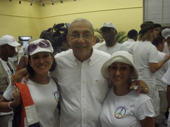 Formell el día del Concierto Paz sin Fronteras, en septiembre de 2009. Foto: Khaterine Solano Vega, de Costa Rica