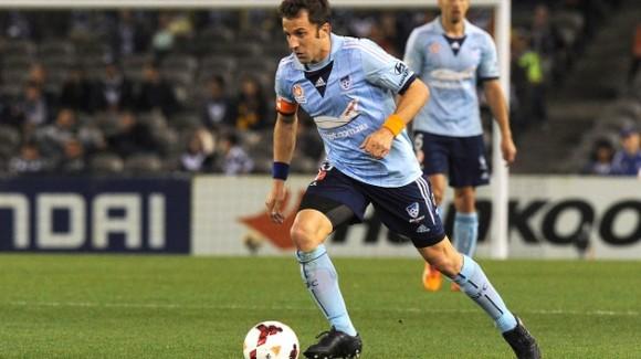 Alessandro Del Piero, 39 años. A pesar de haber marcado 34 goles desde inicios de 2013 con el Sydney FC de Australia, el veterano de la escuadra italiana no irá a Brasil. Fue campeón del mundo en el 2006. © AFP MAL FAIRCLOUGH
