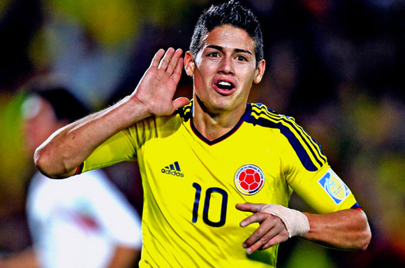 10 millones separan al Real Madrid de James Rodríguez