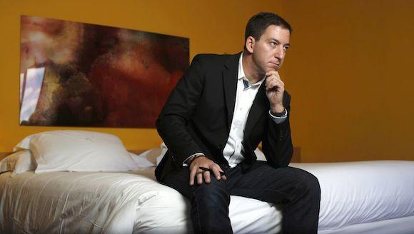 Glenn Greenwald, en un hotel en Madrid este jueves. Foto: SAMUEL SÁNCHEZ/ El País
