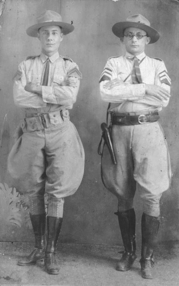 Guardias rurales, 1925. Foto: Autor desconocido.