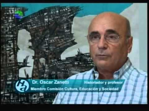 El historiador Zanetti en el Hurón Azul. Foto: UNEAC