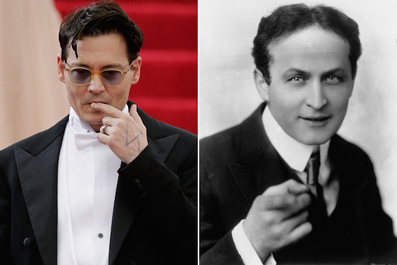 Johnny Depp será Harry Houdini. Foto: Screencrush