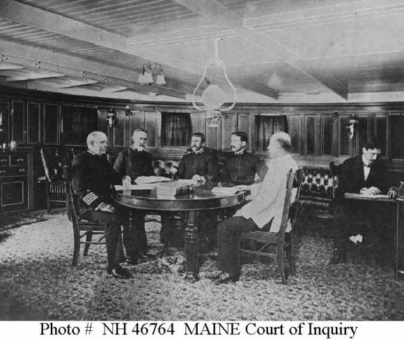 Investigación del Maine.