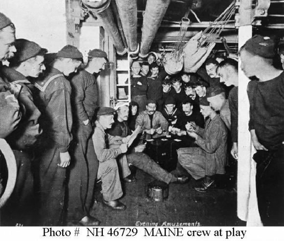 Marineros del Maine.