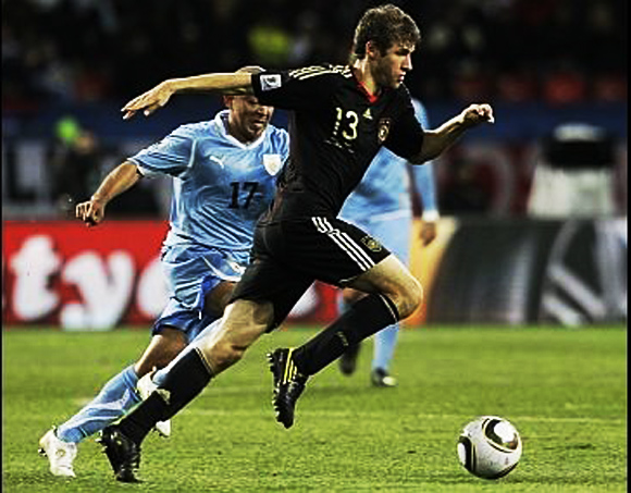 South Africa Soccer WCup Germany Uruguay