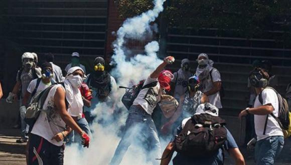protestas y terrorismo en Venezuela