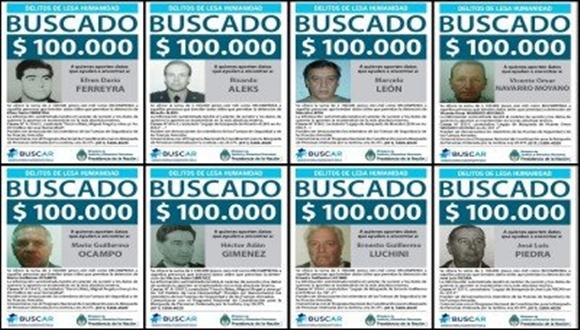 La recompensa más alta que se ofrece es de 500 mil pesos por datos para dar con el paradero de Alejandro Lawless.