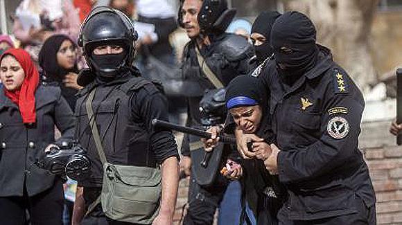 represion egipto estudiantes