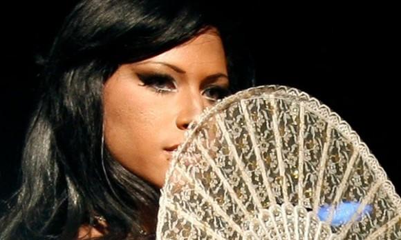 Elección de Miss Travesti-Cuba, en el Mejunje, Santa Clara. Foto: Ismael Francisco/Cubadebate