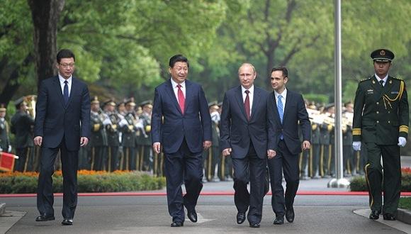 visita oficial de putin a China