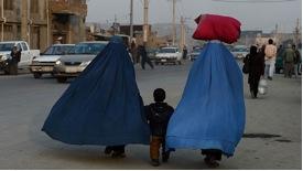 Women now. Foto: AFP/ Shah Marai.