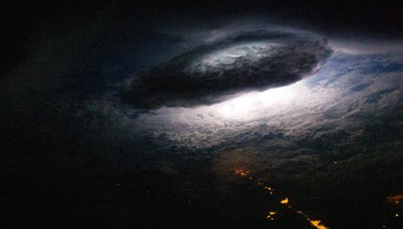 Las tormentas eléctricas desde el espacio 3