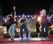 Anacaona dio inicio al concierto de Alamar este sábado 21 de junio. FOTO: Marianela Dufflar.