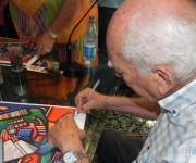 Arte en la Rampa. Foto: Marianela Dufflar/Cubadebate