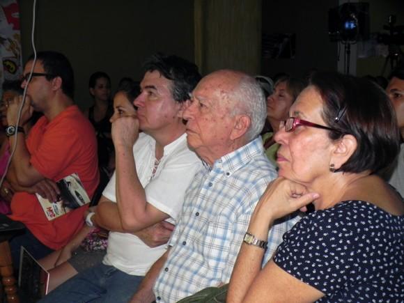 Asistieron a esta inauguración, Julián González, Ministro de Cultura, Lesbia Vent Dumois, presidenta de la Asociación de Artes Plásticas de la Unión de Escritores y Artistas de Cuba (UNEAC), Jorge Alfonso Director de  FCBC. Foto. Marianela Dufflar/Cubadebate
