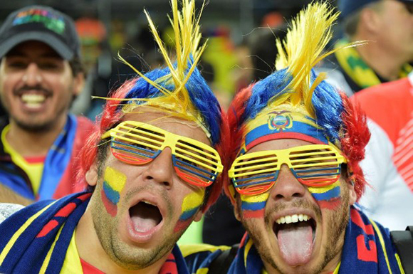 Aficionados ecuatorianos
