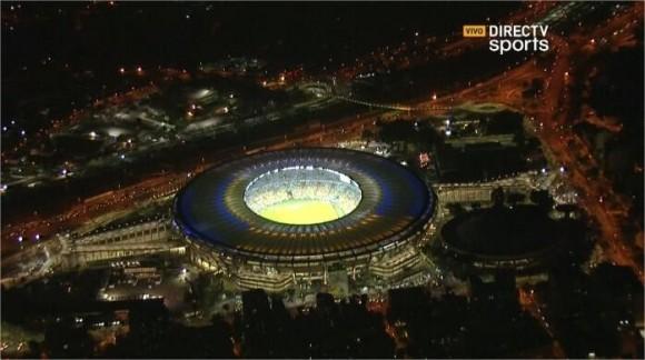 Así luce el Gran Maracaná, donde se jugará el Argentina #Arg - Bosnia
