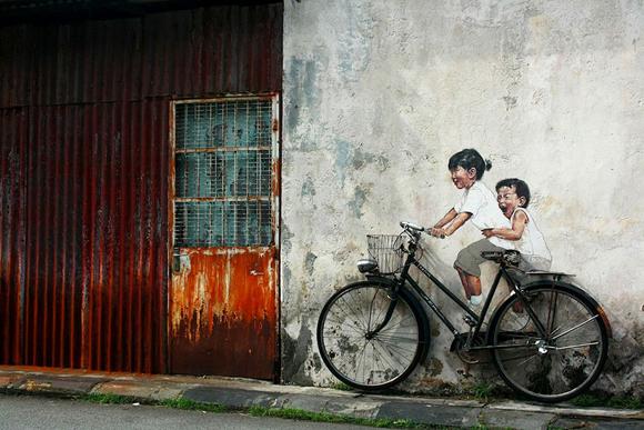 Bicicleta, George Town, Malaysia