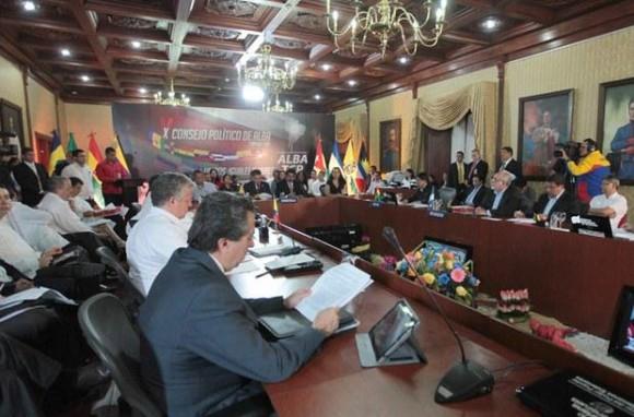 CONSEJO POLÍTICA ALBA TCP EN CARACAS JUNIO 2014