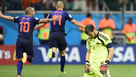 Casillas tuvo la peor noche de su vida.