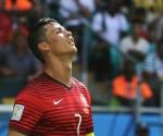 Cristiano Ronaldo, de Portugal, durante el partido ante Alemania celebrado en el Arena Fonte Nova, en Salvador de Bahía, Brasil, el 16 de junio pasado. Foto Xinhu