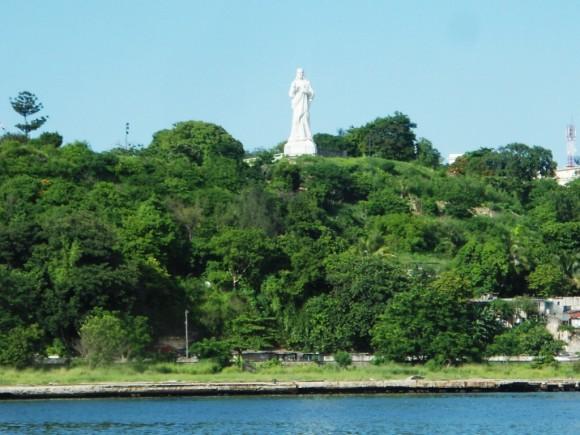 Cristo de La Habana. Foto:Beatriz Gámez