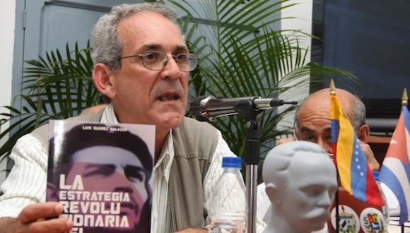 El investigador cubano Luis Suárez Salazar. Foto: Correo del Orinoco.