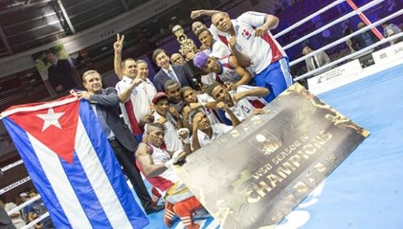 Domadores de Cuba campeones de la WSB 2014