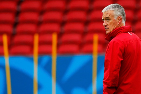 El entrenador Didier Deschamps. Foto: Reuters