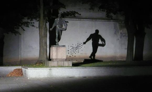 El cosechador, Kaunas, Lituania1